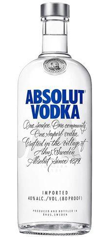 Vodka Absolut Garrafa 750ml