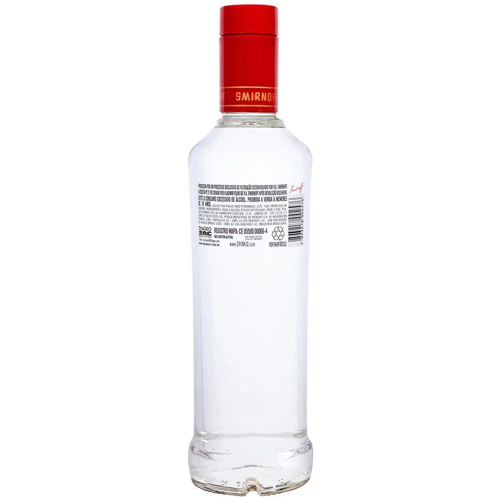 Vodka Smirnoff Gf 600ml 600ml
