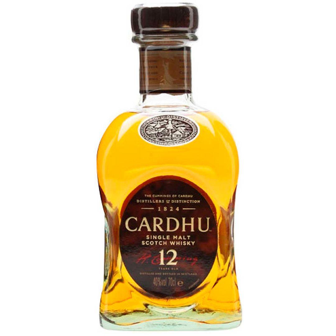 Whiskey Cardhu 12 Anos 1L