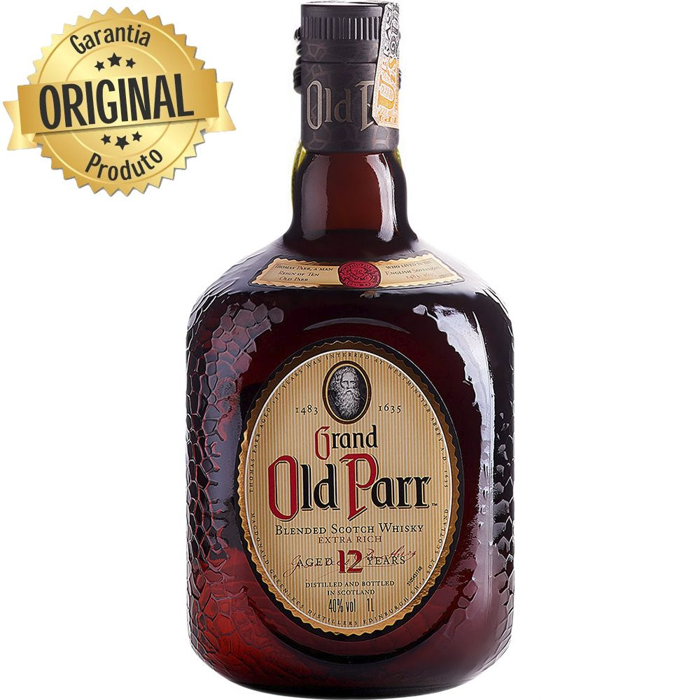 Whiskey Old Parr 12 Anos 1L