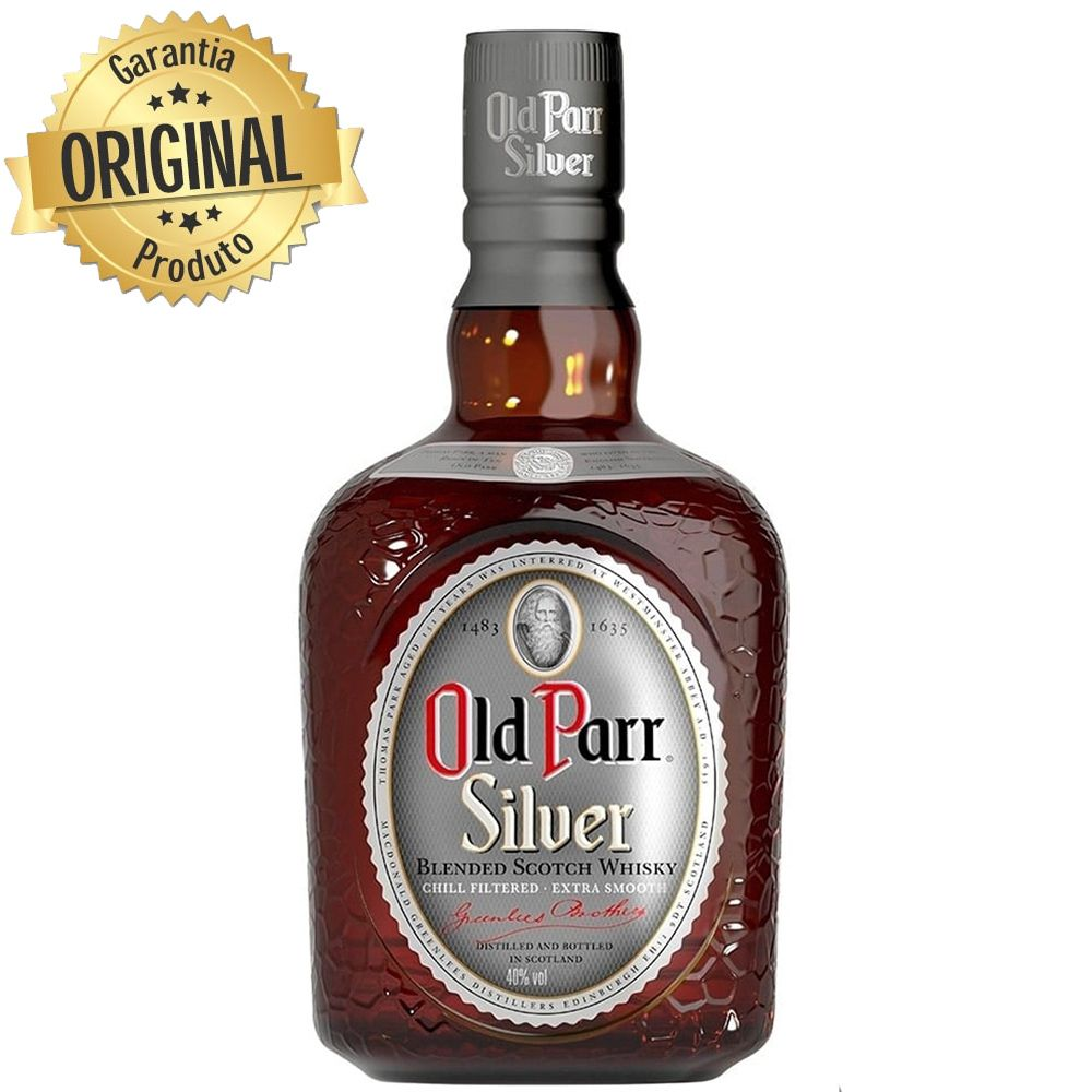 Whiskey Old Parr Silver 1L