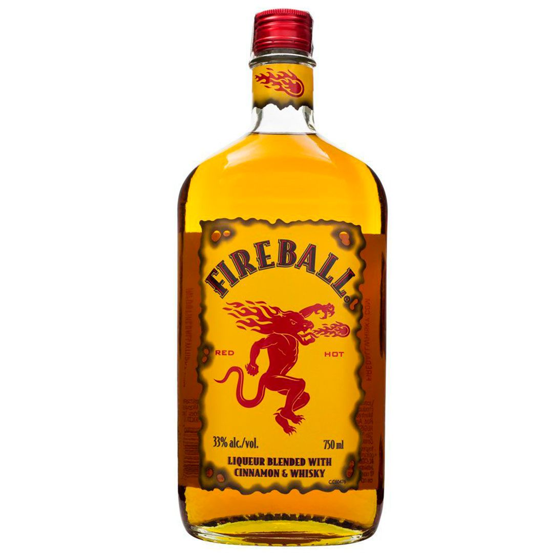 Whisky Cinnamon Fireball 750ml