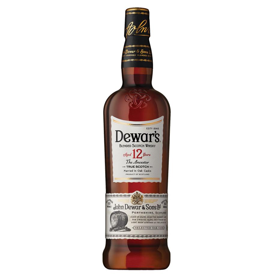 Whisky Dewar's 12 Anos 1L