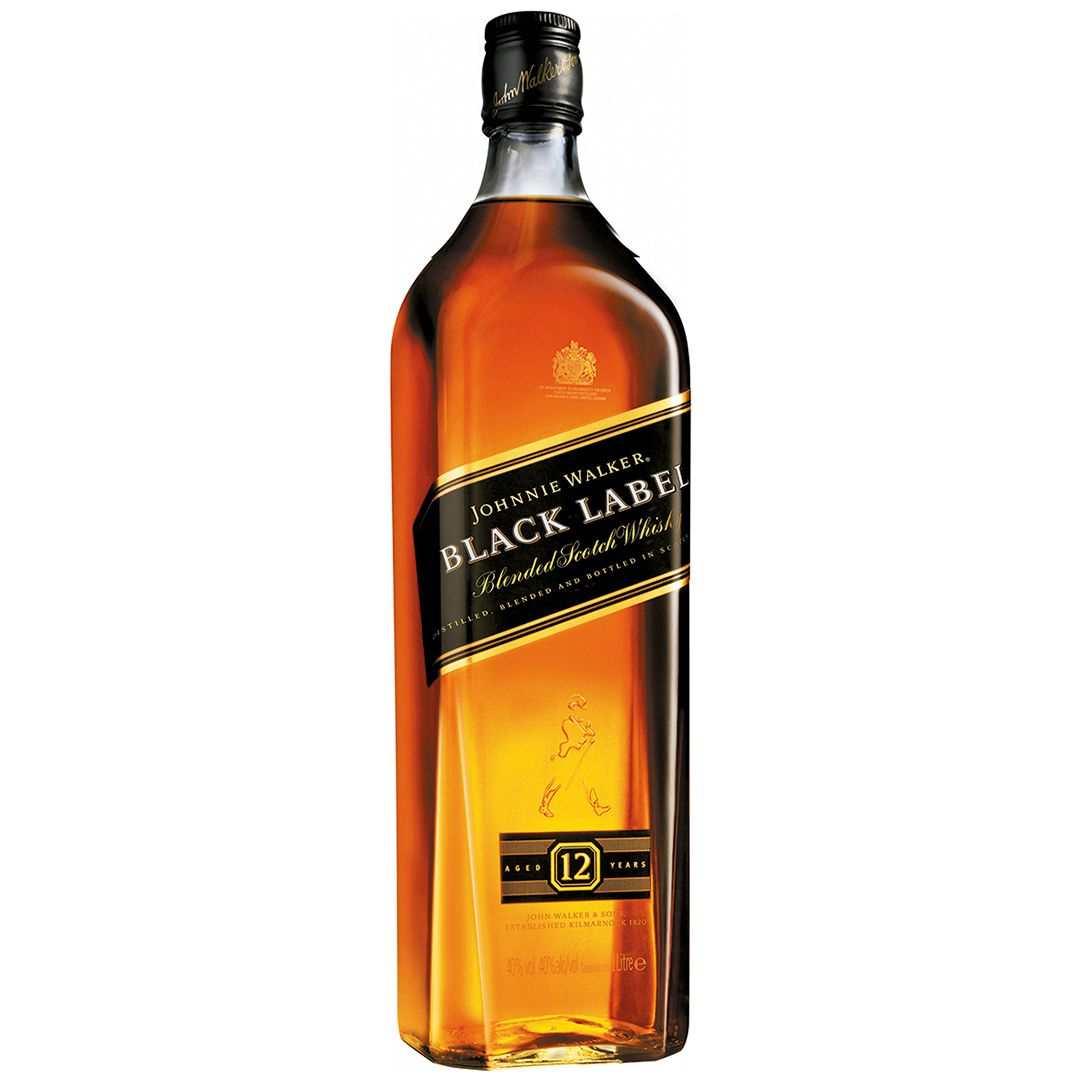 Whisky Johnnie Walker Black Label 1L