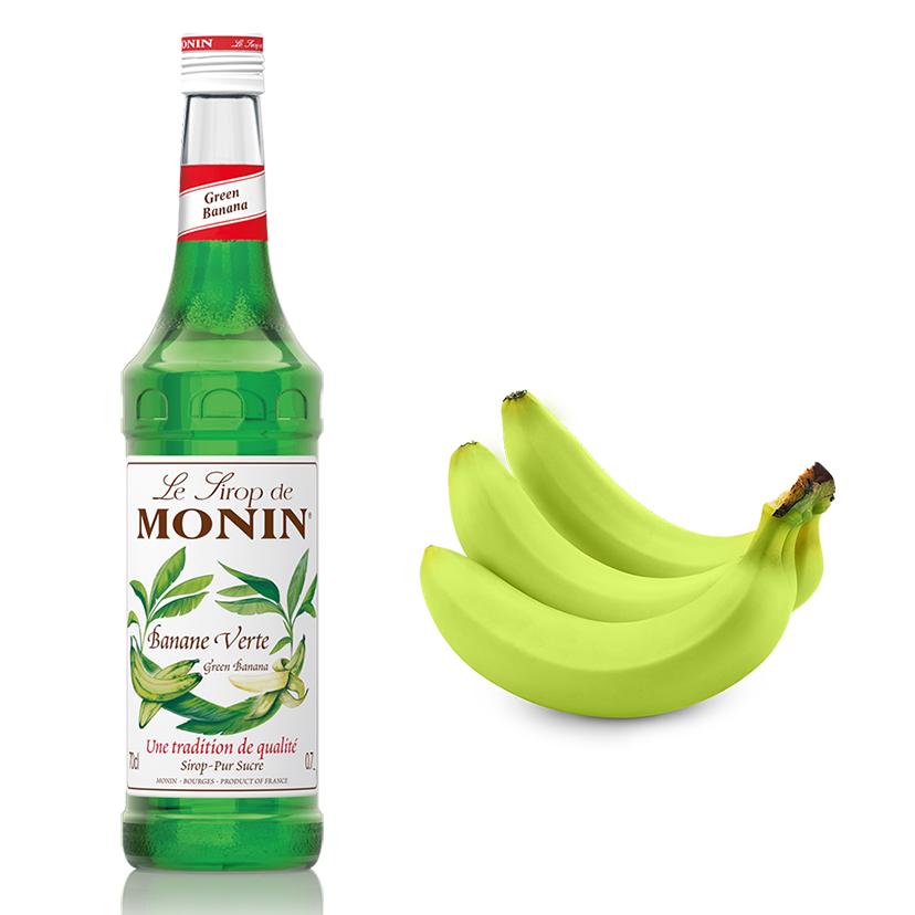 Xarope Monin Banana Verde 700ml