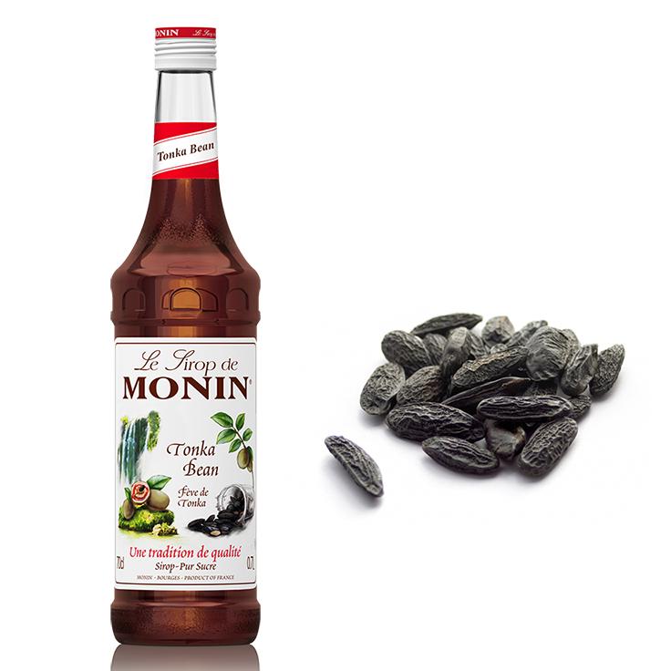 Xarope Monin Tonka Bean Cumar 700ml