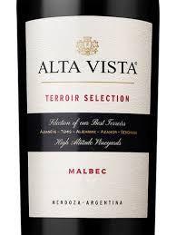 ALTA VISTA TERROIR SELECTION MALBEC TTO 2016