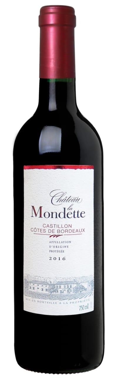 Chateau la Mondette - Castillon - Côte de Bordeaux 2016