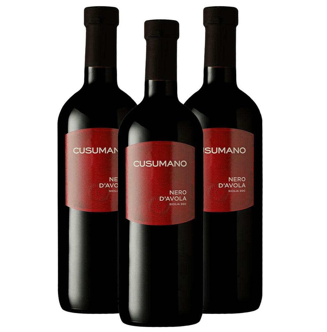 Cusumano Nero d'Avola DOC 2018 ( Promoção de 3 garrafas)