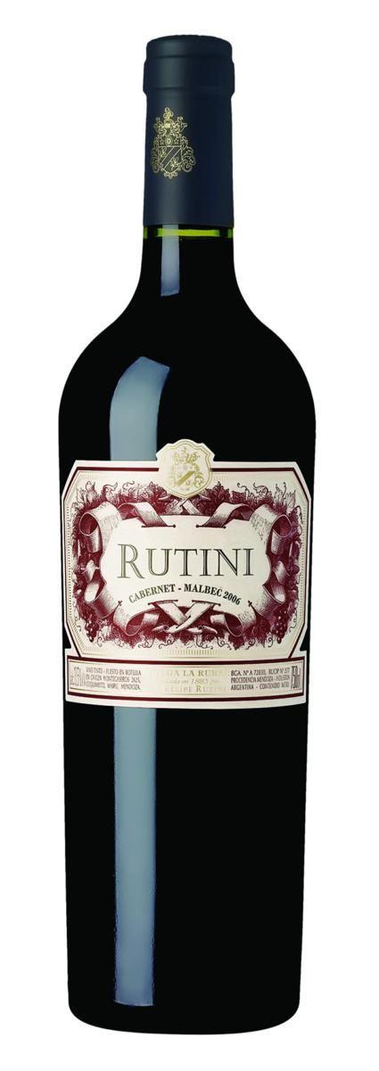 Rutini Colección Cabernet Malbec 2018