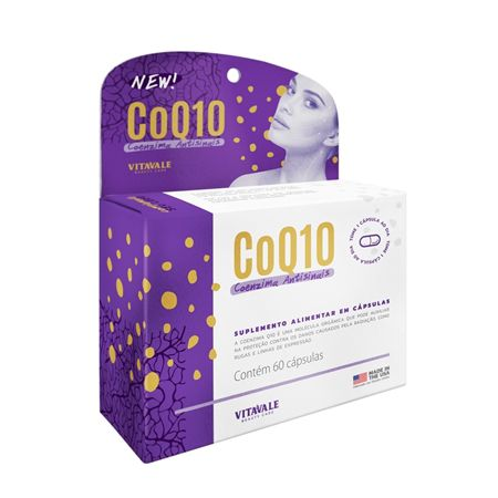Coenzima Q10 (CoQ10) 100mg  60 cápsulas