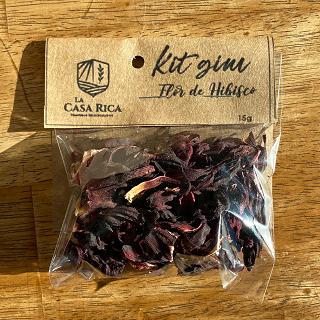 Kit Gin Flor de Hibisco 15g
