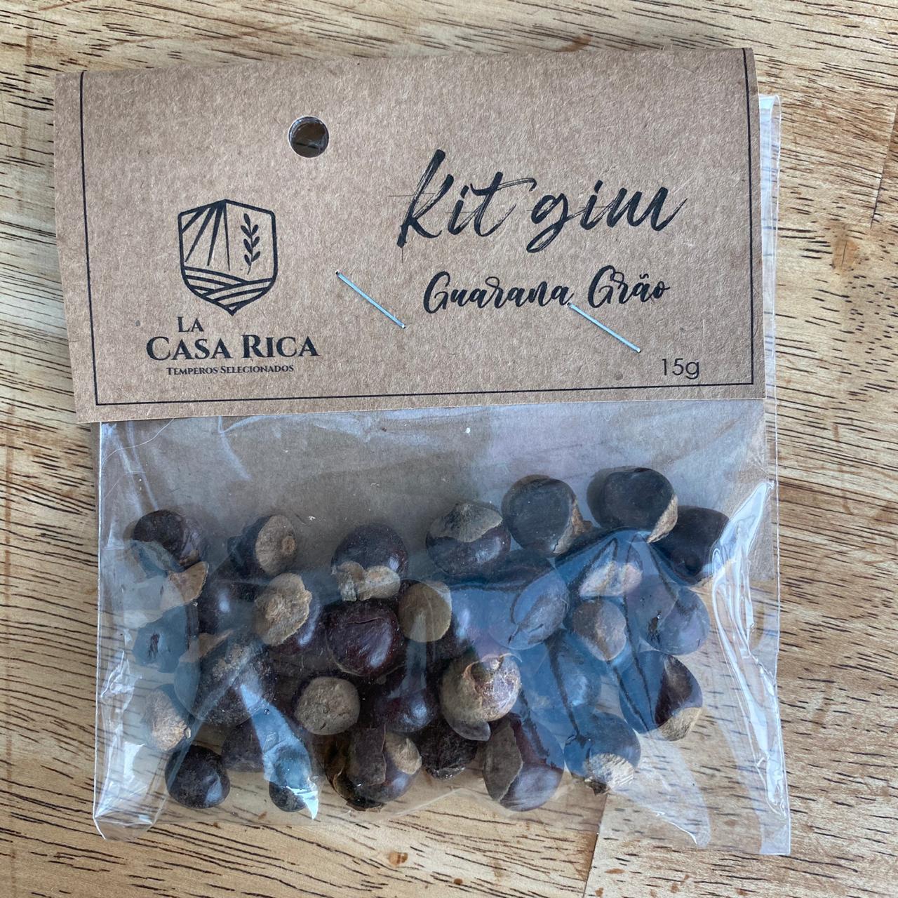 Kit Gin  Guarana em Grão Kit Gin Canela Pau 25g