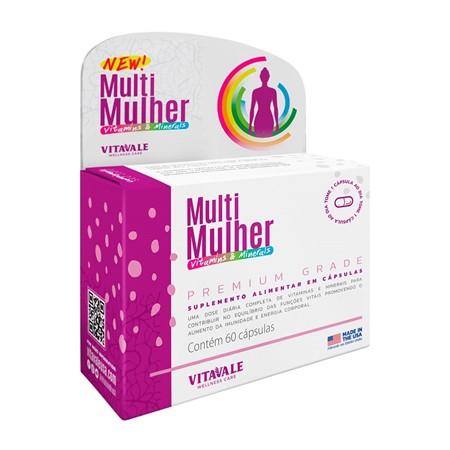 Multi Mulher Vitaminas e Minerais 60 Cápsulas