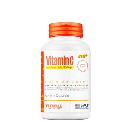 Vitamina C 500mg  60 cápsulas