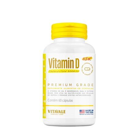 Vitamina D Colecalciferol 2000 UI  60 cápsulas