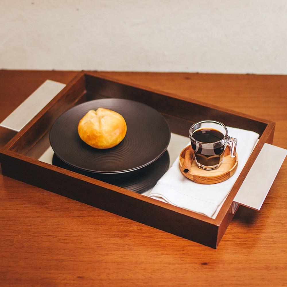 04 Pratos de Sobremesa em Cerâmica Preto Matte 19cm - BonGourmet