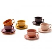 6 Xícaras de Chá Especiarias 278ml - Panelinha
