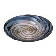 Centro De Mesa Decorativo De Vidro  Spiral 42,5x7,5cm