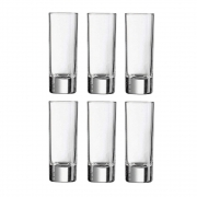 Conjunto 6 Copos de Vidro para Shot 60ml - Luminarc