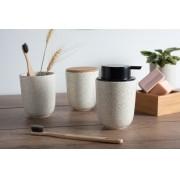 Kit Banheiro 3 pcs Cerâmica Osaka