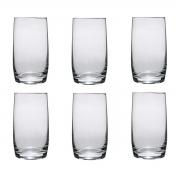 Jogo 6 Copos Ideal em Cristal Titanium 380ml - Bohemia