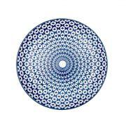 Jogo de 4 Pratos Raso de Sobremesa de Porcelana Decor 19,5cm