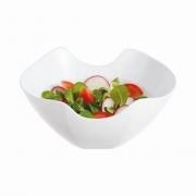 Saladeira de Vidro Temperado Branco Salenco 24cm - Luminarc