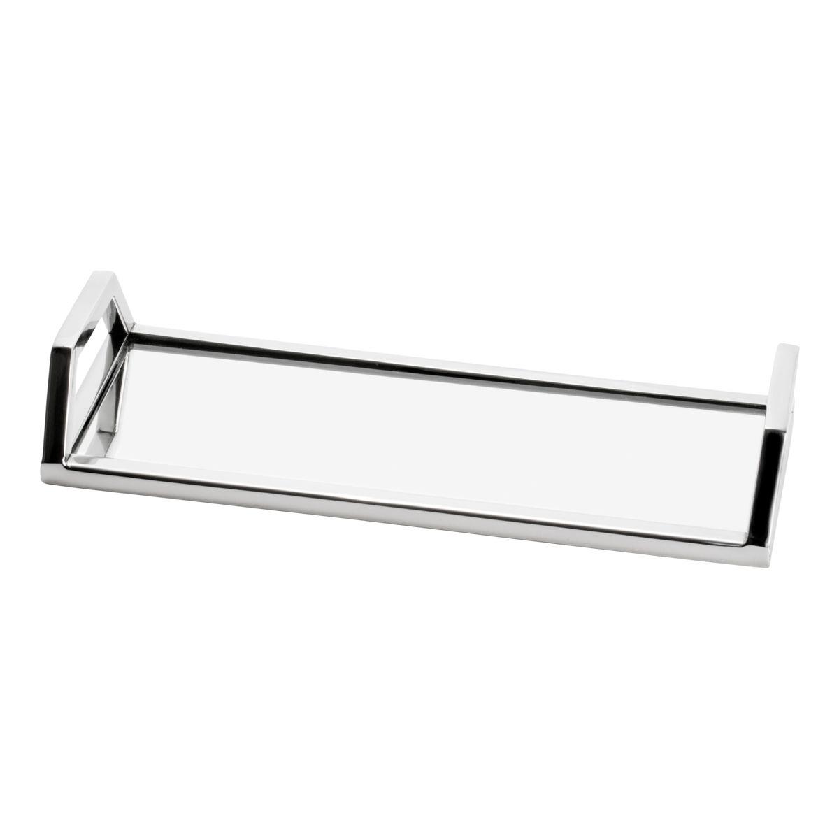 Bandeja Aço Inox Espelhada 30x12x5cm