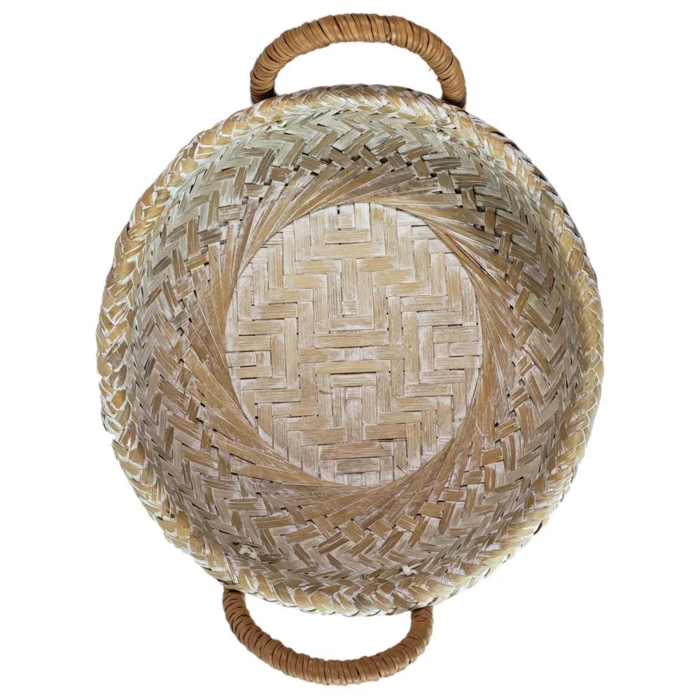 Bandeja de Bambu com Alça M (33 X 09 cm)