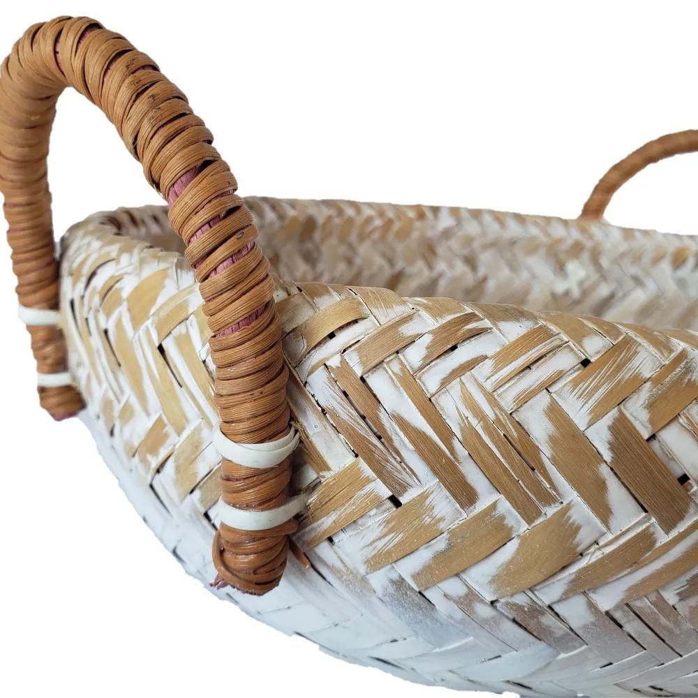 Bandeja de Bambu com Alça P (25 x 08cm)