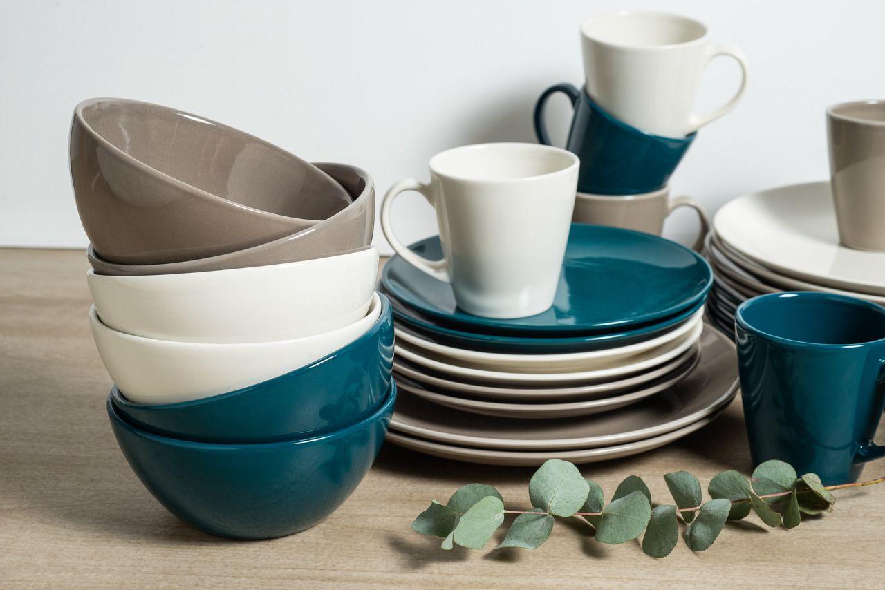 Bowl Clean Esmalte Cinza - Linha Garden