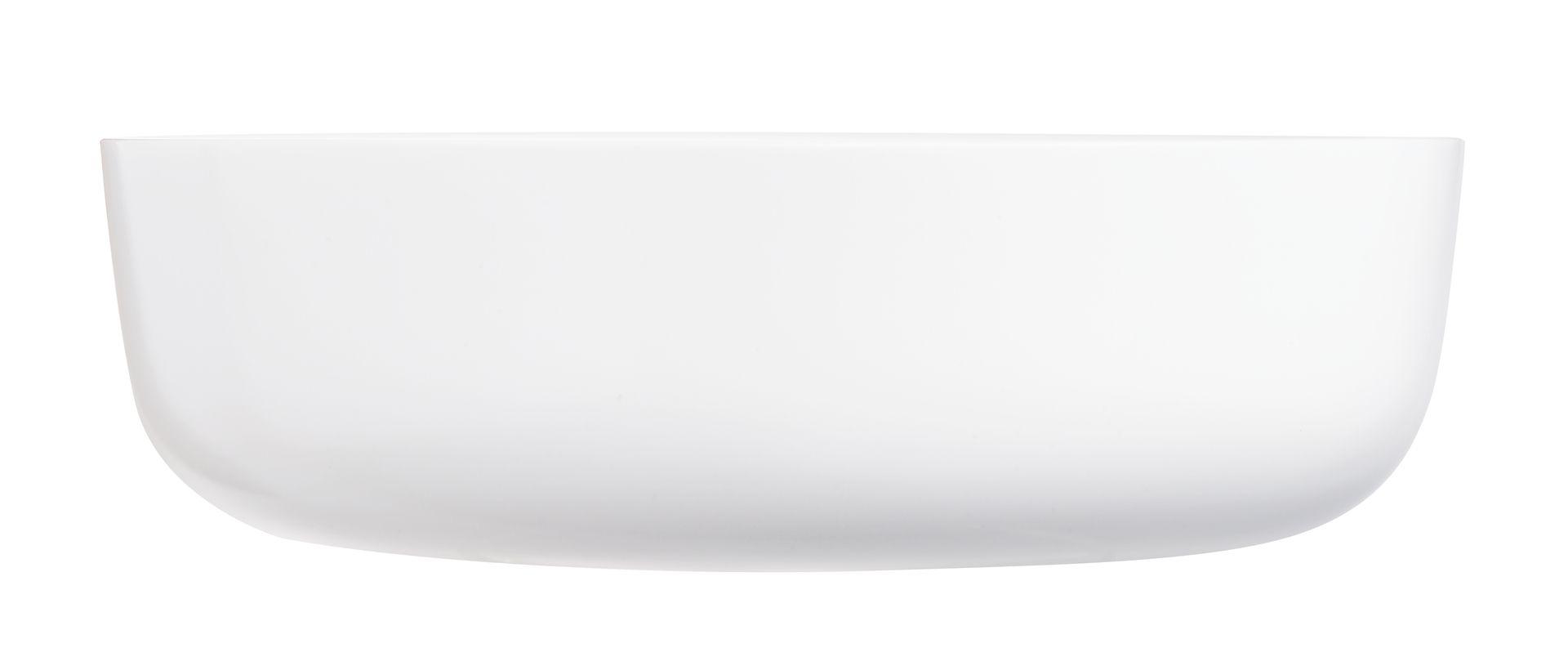 Travessa Refratária  Diwali Vidro Branco 26cm 2,8l Luminarc