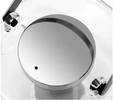 Bule para chá em Vidro com infusor em Aço Inox Bjorn 750mL - Viva Scandinávia