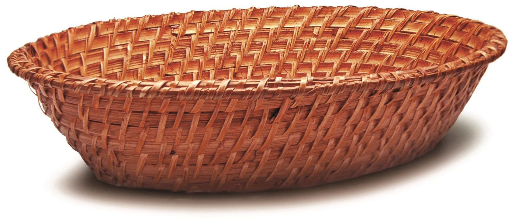 Cesto Oval Rattan 36x27x10cm - Tyft Organic