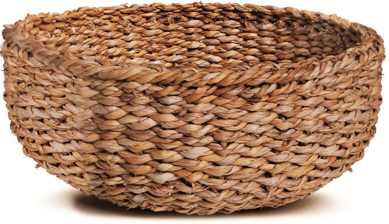 Cesto Seagrass Redondo Dhaka - 36X15cm