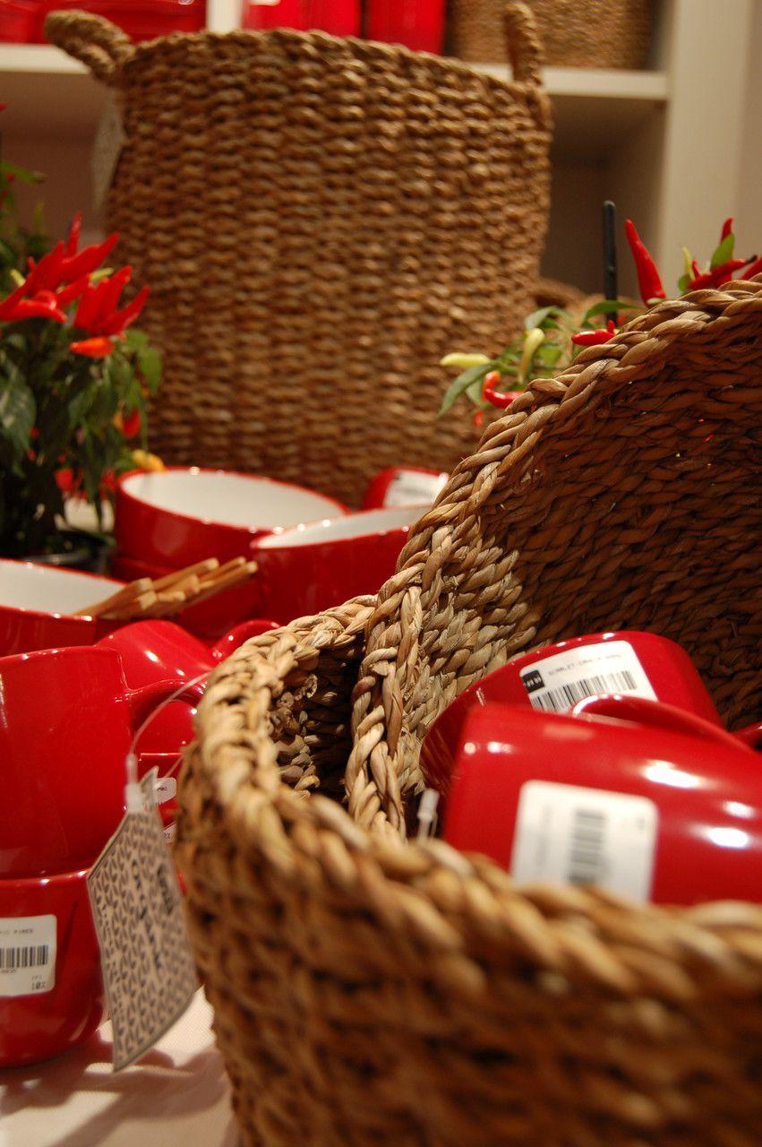 Cesto Seagrs Redondo Alto Kila Tyft Organic - 46X30cm
