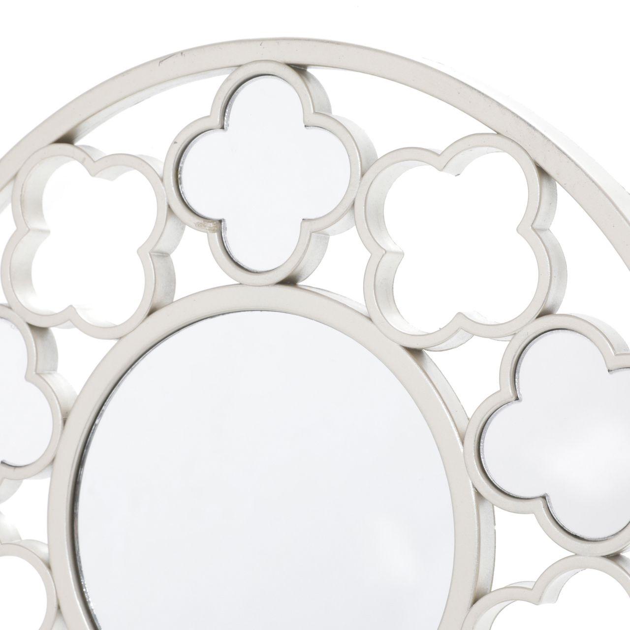 Conjunto 3 Espelhos de Parede 25x25cm