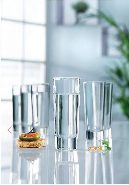 Conjunto 3 copos Vidro Shot 60ml