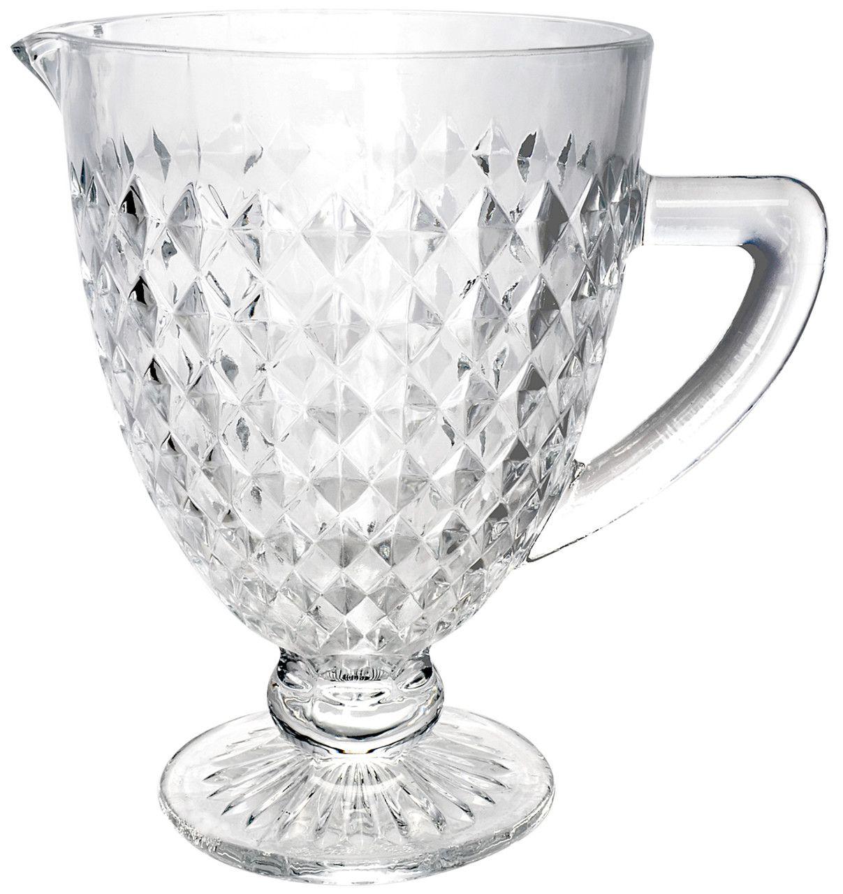 Conjunto 6 Taças 220ml e 1 Jarra 1L de Vidro Roman Transparente