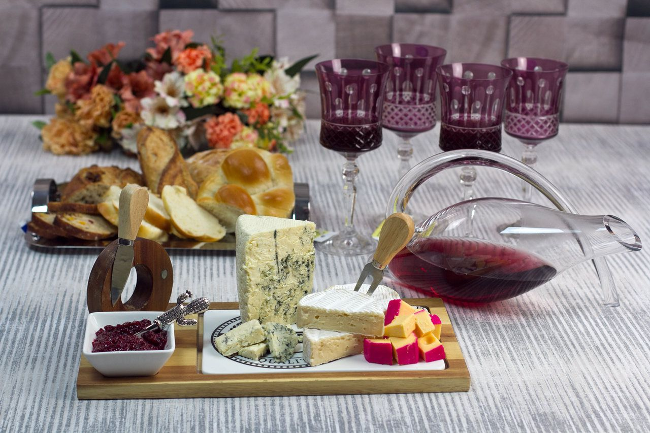 Conjunto 6 Taças Cristal Ecológico (Livre De Chumbo) Lapidado P/Vinho Grace Amethist 250ml