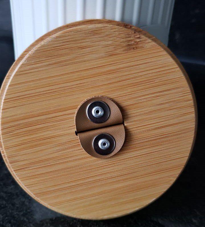 Conjunto com 3 Porta-Condimento e 1 Porta Utensilios Lisse