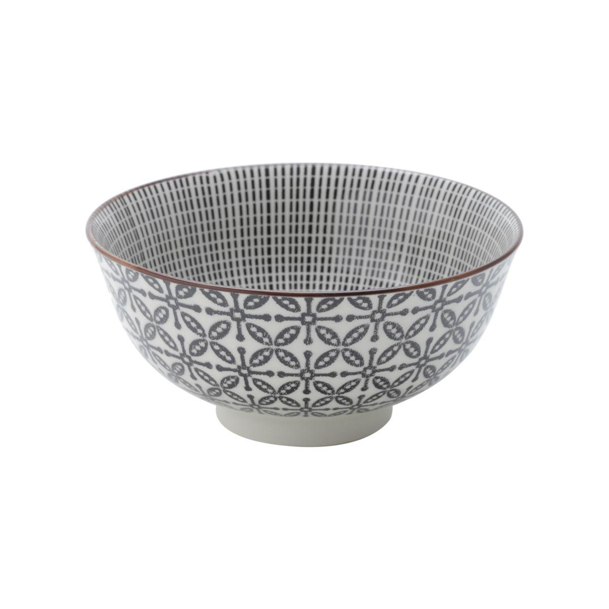 Conjunto de 4 Bowls de Porcelana  12x5,5cm
