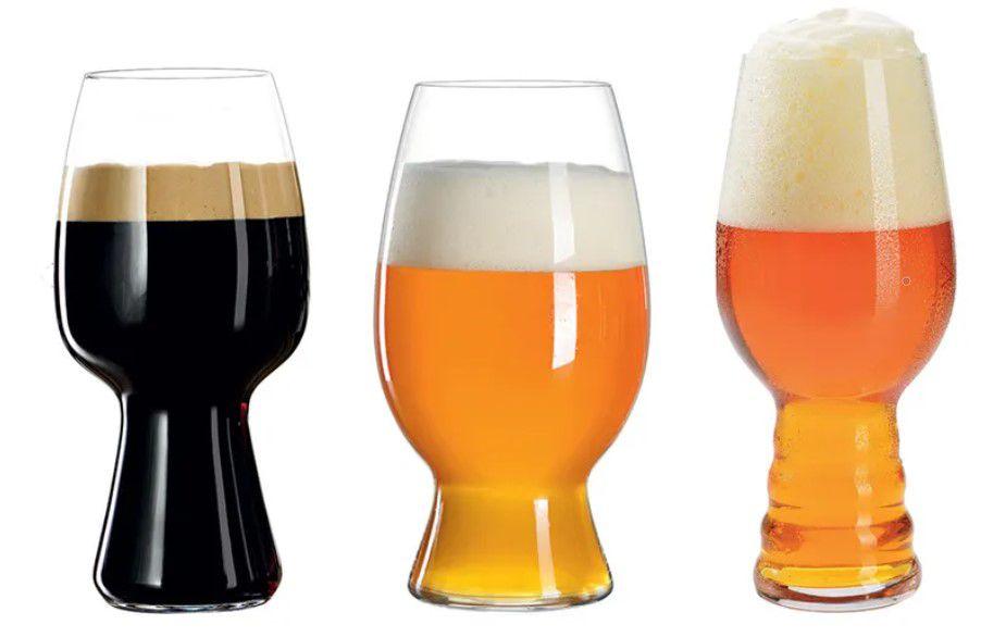 Conjunto de 3 Copos para Cerveja em Vidro Craft Beer Spiegelau