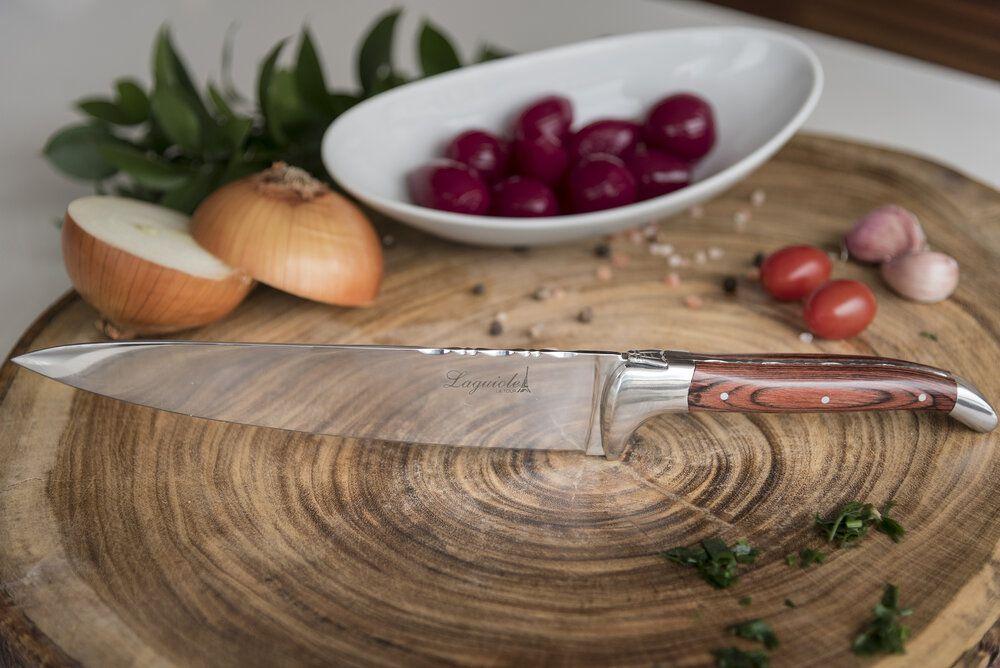 Faca Do Chefe em Madeira Laguiole Ultra Premium - Latour