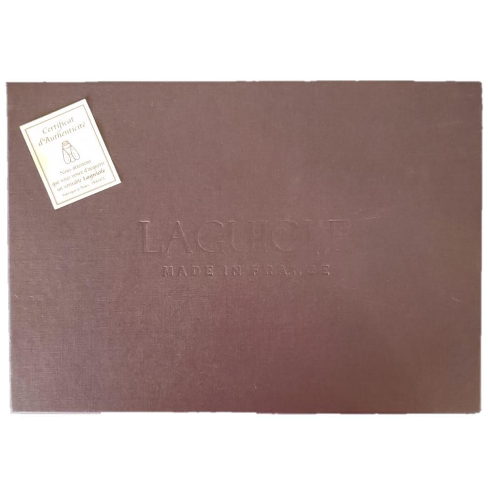 Conjunto 06 Facas Laguiole em Inox - Jean Neron