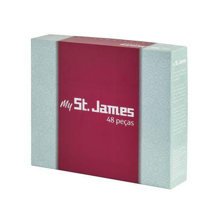 Faqueiro Inox 48 pcs - Belle St James