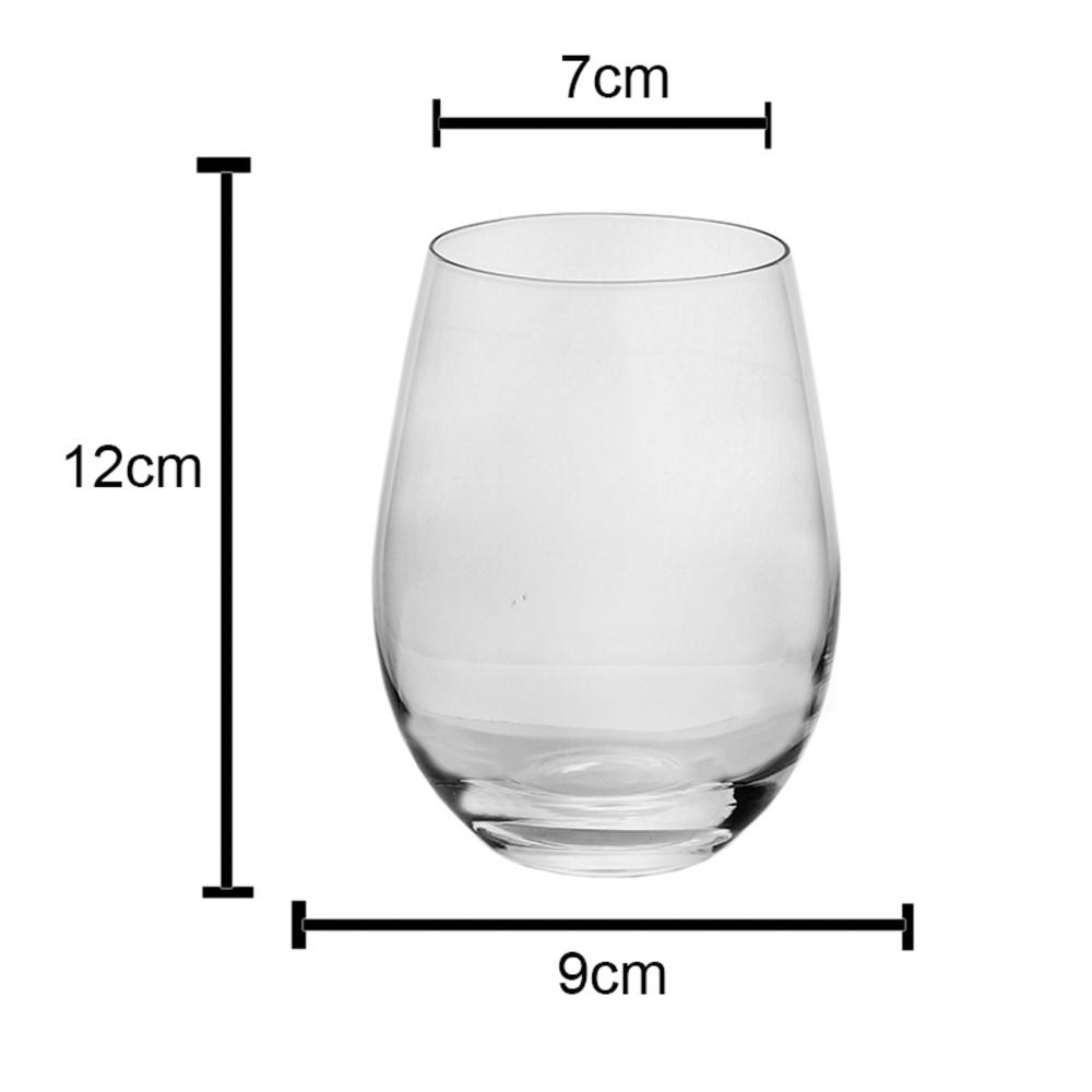 Jogo 06 copos para Vinho Wine 535mL