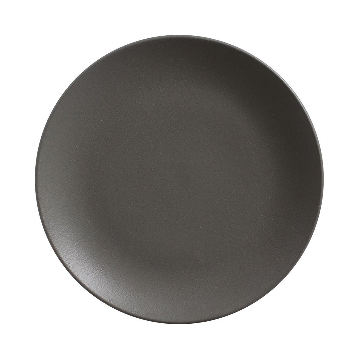 Jogo 6 Pratos Sobremesa Coup Stoneware Urban Graphite  20cm - Porto Brasil