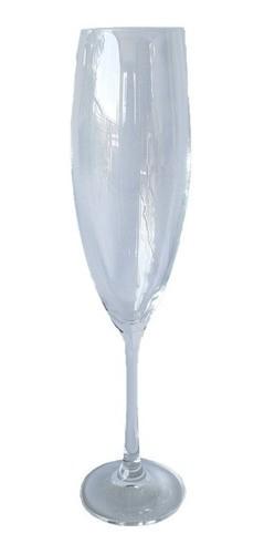 Jogo com 6 Taças de Champagne 230ml Titanium Inside - Sophia